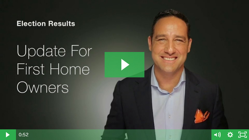 VIDEO – Election Results: Update For First Home Owners