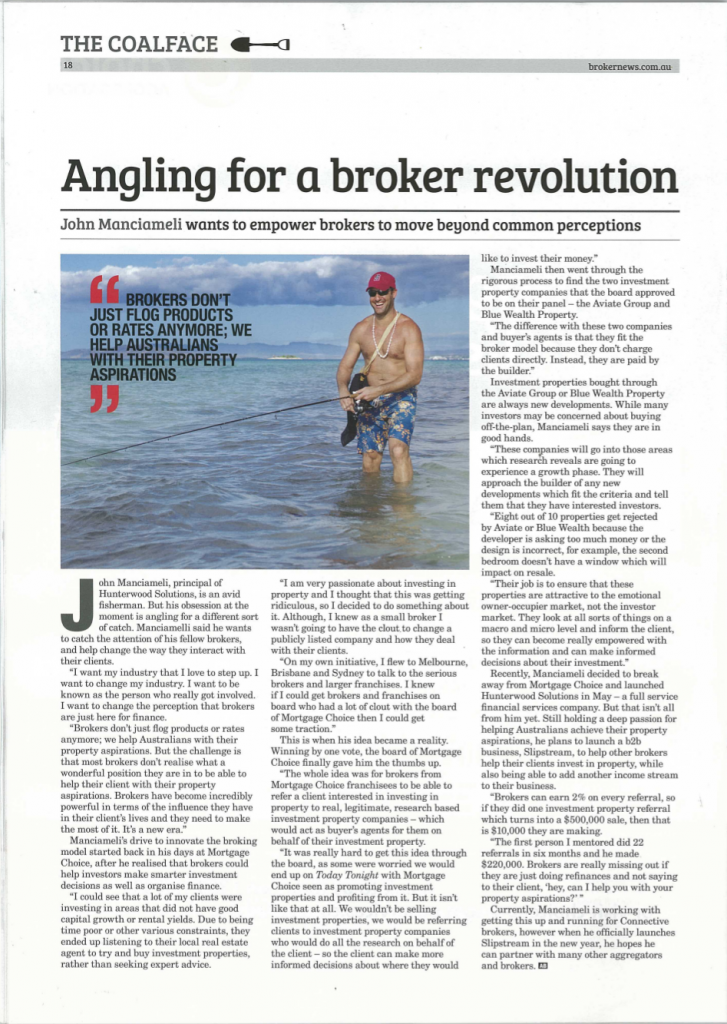 Angling for a broker revolution